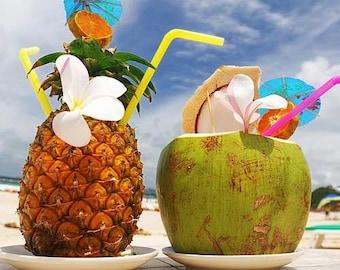 Island Nectar Perfume Fragrance Roll On Oil Bottle 10 ml BBW Type Tropical Scent