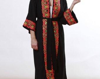 Cleopatra Long Kimono Bamboo