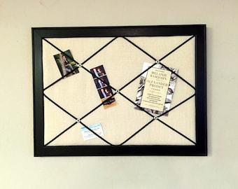 Framed French Memo Board Classic Memory Board Photo Board Organizer