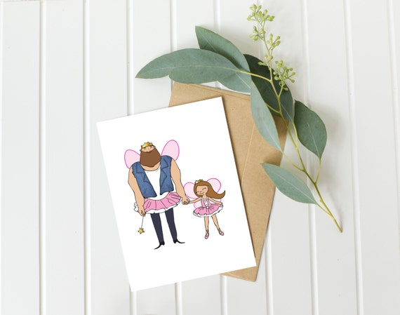 Birthday Cards For Daddy From Daughter ~ Dad birthday card father daughter card daddy birthday card