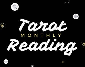 Monthly Tarot Card Rading