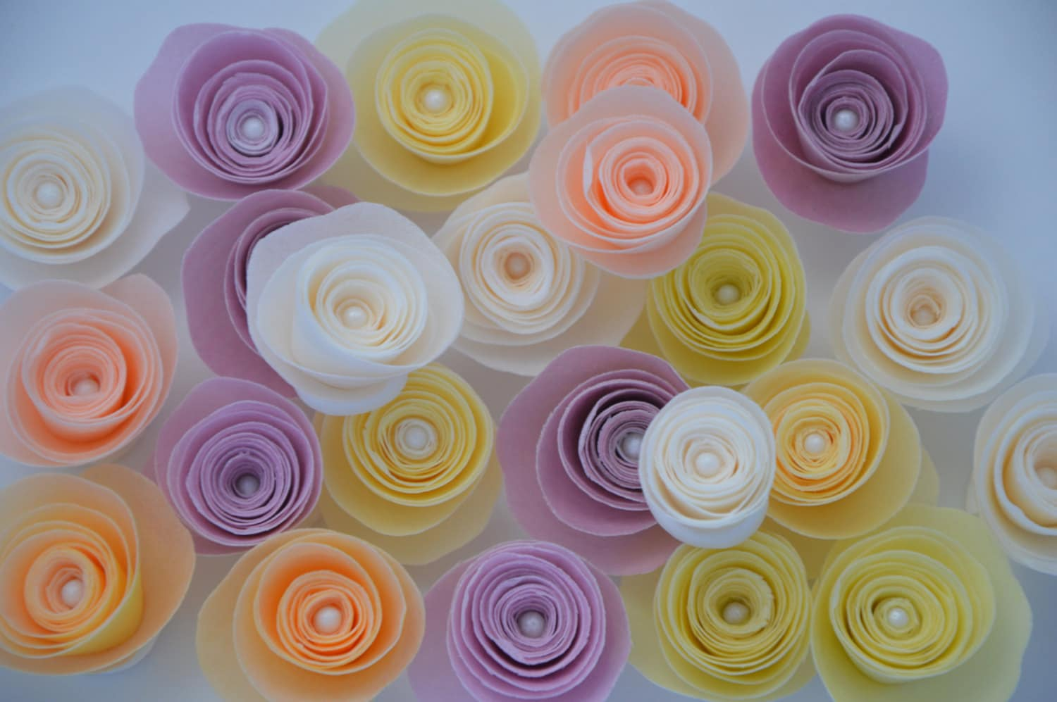 12 Edible Flowers For Cake Wafer Paper Flowersedible Flowers