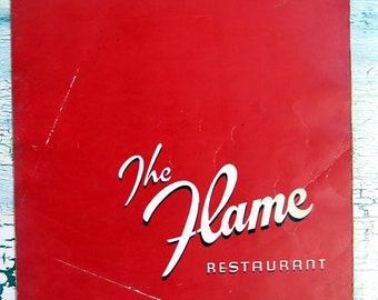 BTS The Flame Restaurant Menu
