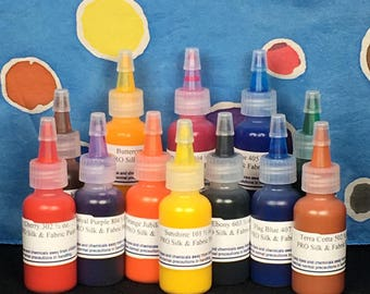FREE SHIPPING - PRO Silk & Fabric Paint Kit