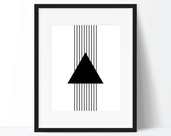 Geometric Print, Geometric Art, Minimalist Art, Modern Print, Modern Wall Art, Modern Printable, Minimalist Poster, Geometric Poster