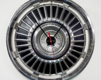 1964 Chevrolet Chevelle Hub Cap Clock - Chevy El Camino Hubcap