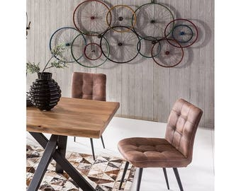Bicycle Wall Art Vintage Urban Accessories