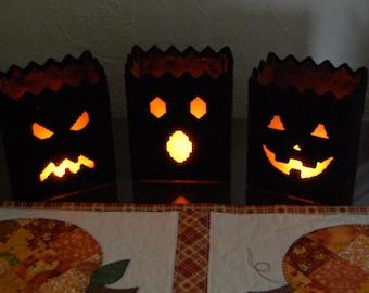 Motif: Halloween luminaires en toile en plastique