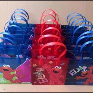 Elmo goody favor treat bags