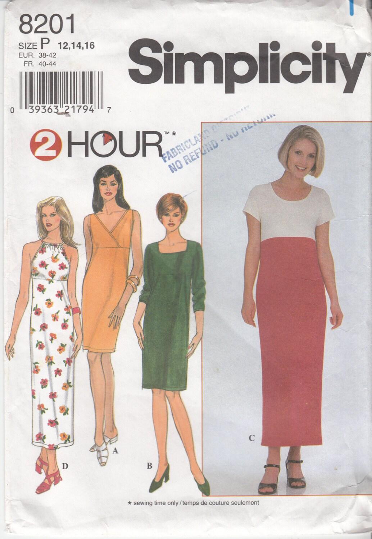 Neckholder Kleid der 90er Jahre Karree-Ausschnitt Sommerkleid ...