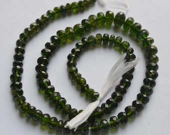 Chrome Tourmaline Faceted 14 inch Strand