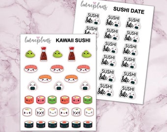 Sushi - Planner Stickers eclp happy planner