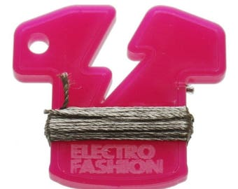Electro-Fashion conductive thread, 6M Conductive Thread e textiles