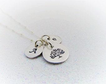 Stammbaum Halskette - Mütter Halskette - Baum des Lebens Halskette - erste Halskette
