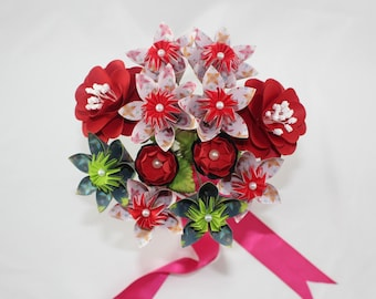 Paper Flowers / Origami Flowers / Paper Flower Bouquet
