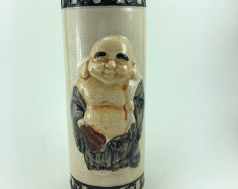 Vintage Orchids of Hawaii Buddha Tiki Mug Vase R-97