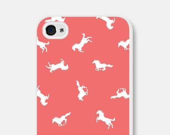 iPhone 6 Case - Horse iPhone 5 Case - Horse iPhone Case - Coral iPhone Case iPhone 5c Case Horse iPhone 6 Plus Case Samsung Galaxy S5 Case