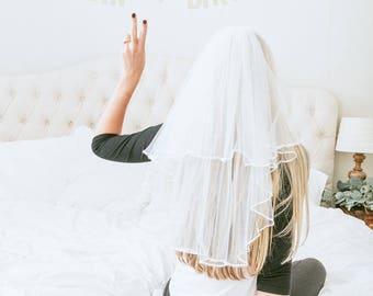 Bachelorette Party Veil | Bride veil | Veil for Bachelorette