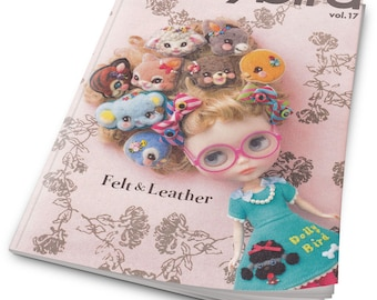 Dolly Dolly Vol 17 - Doll Clothes Sewing Pattern Book-Japanese Dolly Clothes book-PDF-instant download