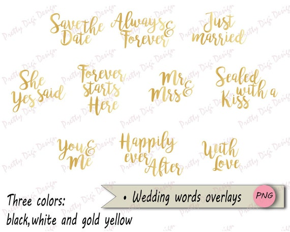 wedding word