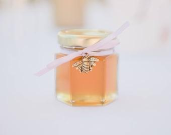 24 Honey Jar Favors