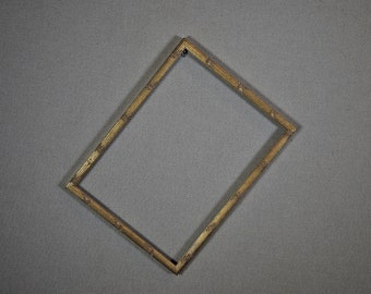 10x14 Frame (Approx Size) Ornate Gold Wood with Optional Glass and Matting Complete Kit