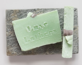 Vegan soap Apple Soap Green apple Soap bar Organic soap Homemade soap Gift for her Gift for mom Wholesale Natural Cold process soap