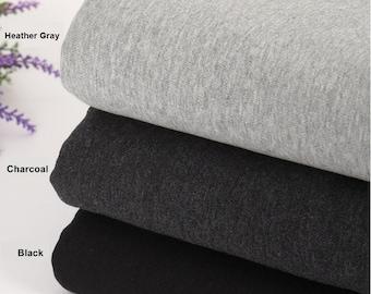 Franse zware Terry Knit stof in 3 kleuren door de werf