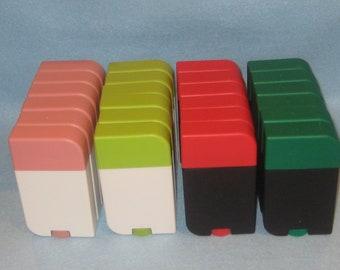 Assorted Lotion Bars Lot (44 CT) Jar Sets-Solid Lotion - 4 Piece Twist Up Set-Deodorant-Lotion Jar Set- Cosmetic Jar.