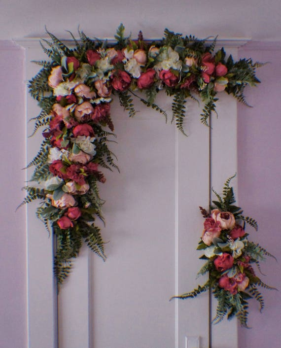 Wedding Arches With Flowers: Wedding Arch Swag Extra Large Wedding Swag Archway Flowers