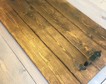 Wooden Serving Tray - Centerpiece Tray