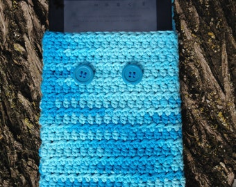 Seamless Crochet Kindle Cover Pattern