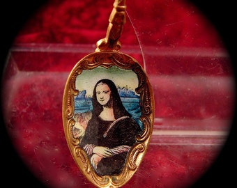 Mona Lisa Collector Spoon
