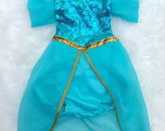 Arabian Princess-Inspired Baby Romper