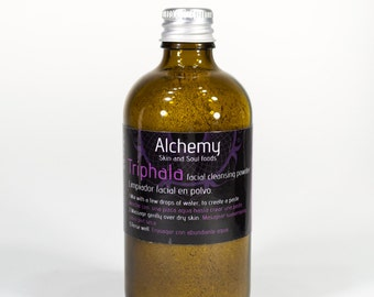 TRIPHALA Facial Cleansing Powder - Balancing and Purifying