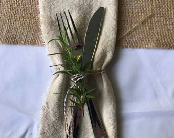 Rustic Cloth Napkins for Any Occasion
