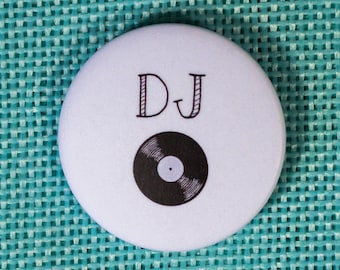 Badge wedding DJ