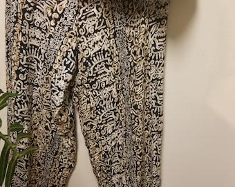 Vintage Super Funky Bohemian Pants Stretchy