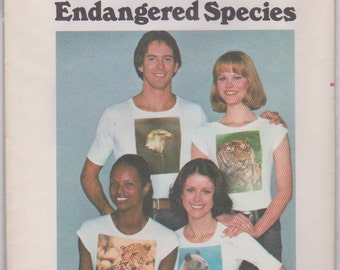 """Butterick 4839 """"Endangered Species Full Color Permanent Transfers"""""""