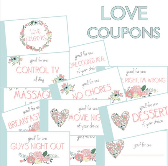 coupon book template for husband - love coupon book love coupons coupon book anniversary gift