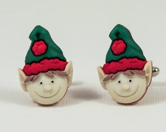 Christmas Elf Cufflinks