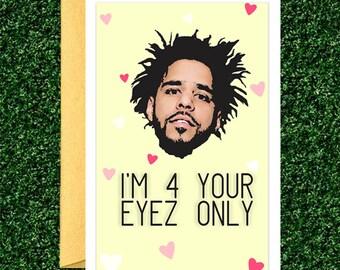 J Cole Valentine's Card