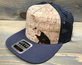 Fly Fishing Cork Trucker Hat