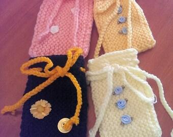 Petit tricot sacs - idéal pour les cadeaux