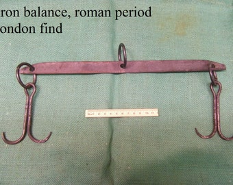 "iron ballance roman period london find 14"" long"