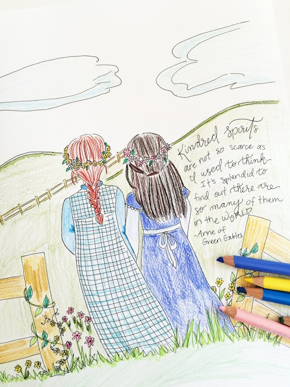 Anne of Green Gables Coloring page