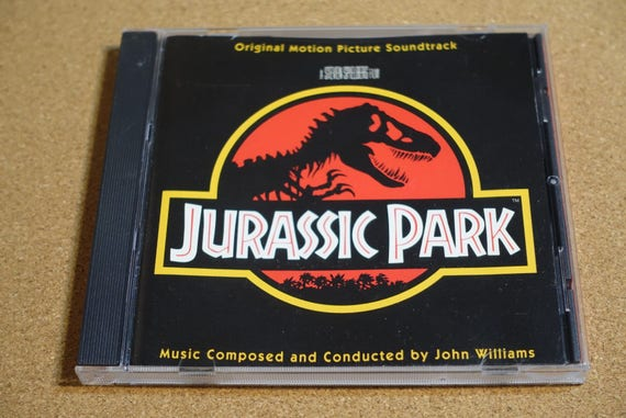 Jurassic Park (Original Motion Picture Soundtrack) by John Williams Vintage CD Compact Disc