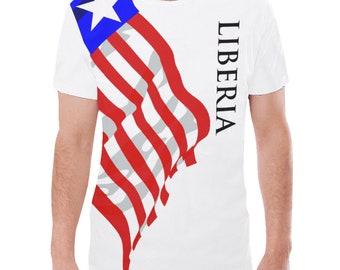 Liberia Men's Classic Flag Tee 2.0