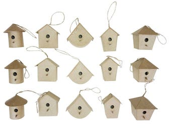 Birdhouse decoration 7 cm - Decopatch - Ref AC331 (sold separately) - while stock last!