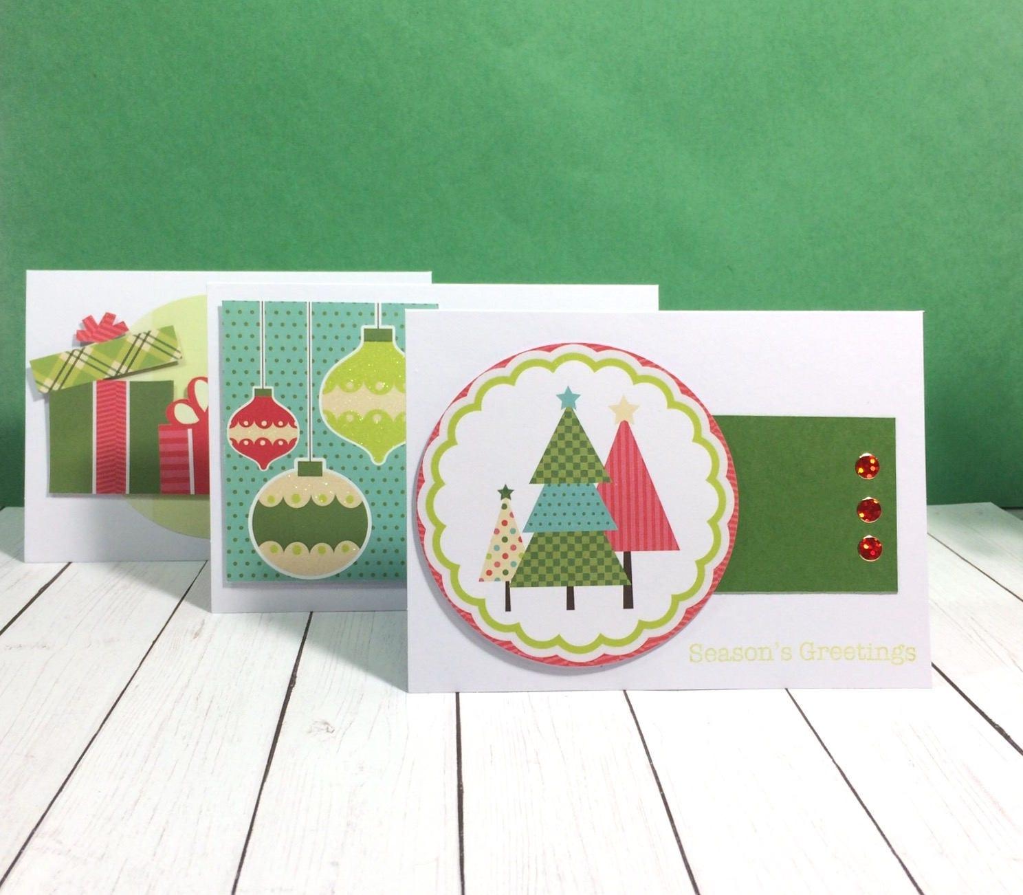 Set Of Holiday Cards Holiday Cards Set Holiday Cards